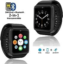 indigi GT8 Gear 2-in-1 SmartWatch & Phone + (Compatible w/Bluetooth) + Optional SIM +..