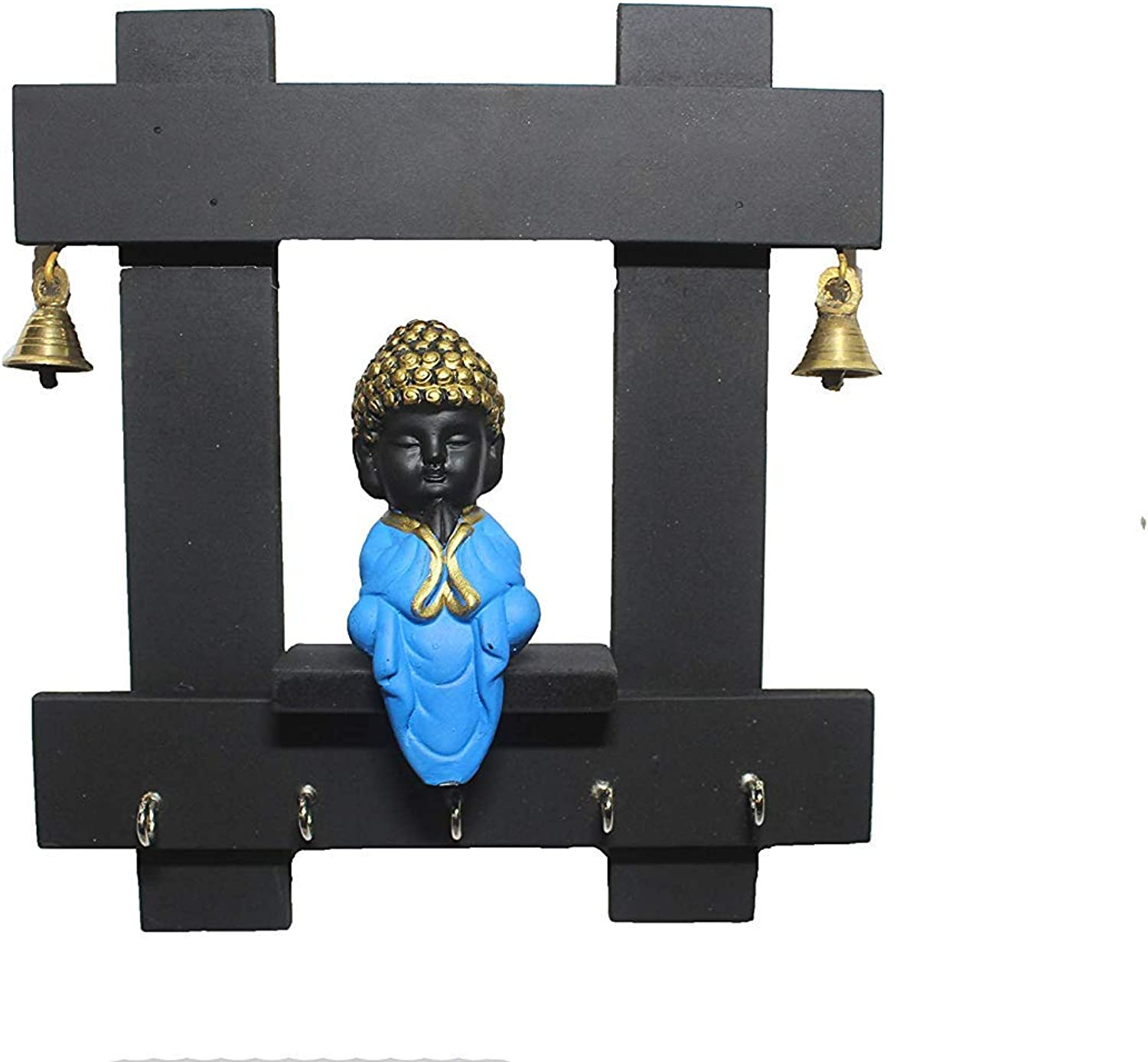 Giant Roots Wooden Buddha Key Holder for Home & Decor