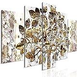 murando Cuadro en Lienzo Gustav Klimt 225x100 cm Impresión de 5 Piezas Material Tejido no Tejido Impresión Artística Imagen Gráfica Decoracion de Pared Arbol Árbol de la Vida a-A-0356-b-m