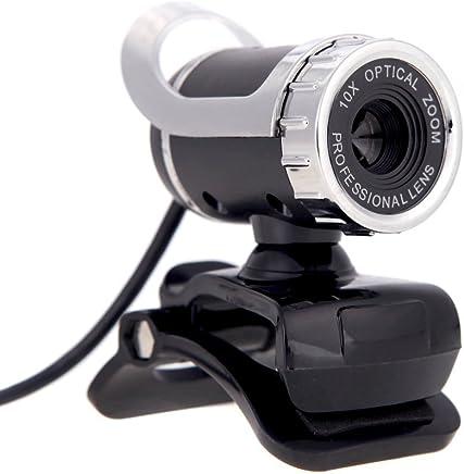 REFURBISHHOUSE Fotocamera Web USB 2.0 da 12 Megapixel con Fotocamera HD da 360 Gradi con Microfono a Clip per PC Desktop Skype Computer Portatile - Trova i prezzi più bassi