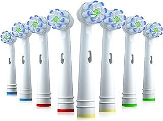 comprar comparacion REDTRON Recambios Cepillo Compatible con Oral B, 8 cabezales de cepillo de dientes eléctricos para Oral B Sensitive, Oral ...