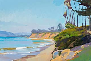 Posterazzi Collection Morning Light Butterfly Beach Poster Print by Marcia Burtt (24 x 36)