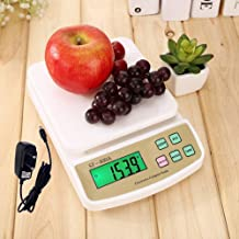 KOMCNC Digital Electronic Weight Machine For Home Kitchen Shop Weighing Scale Kitchen Weigh Food Fruits Vegetables Products Upto 10 KG