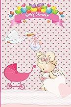 Carnet de notes Baby shower: Carnet de poche à offrir pour baby shower, dimension 10x15 cm, 80 pages lignées sur papier cr...