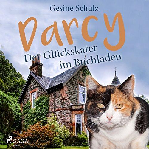 Darcy - Der Glückskater im Buchladen Titelbild
