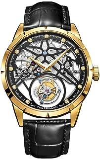 LIGUANGWEN - LIGUANGWEN Reloj de los Hombres de Negocios Reloj mecánico Superior de la Marca de Lujo Impermeable de Zafiro Reloj for los Hombres Relogio Masculino (Color : B)