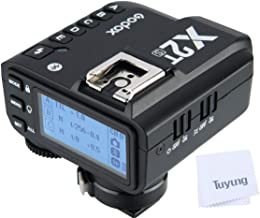 Godox X2T-S TTL Wireless Flash Trigger for Sony Bluetooth Connection Supports iOS/Android App Contoller, 1/8000s HSS, TCM Function,Relocated Control-Wheel,New AF Assist Light