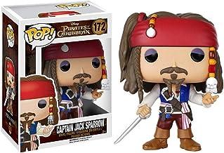 MMZ Figura Pop!Jack Sparrow Figura de Vinilo película de la Obra Maestra de la Figura Coleccionable de Classice película de la Serie Piratas del Caribe 10cm