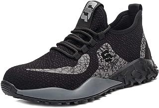 حذاء سيفتي خفيف للغاية لاعمال الصناعة والبناء، حذاء جيد التهوية للرجال والنساء من ليتوج