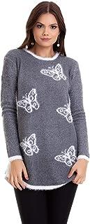 Suéter Tricot Borboleta Kinara