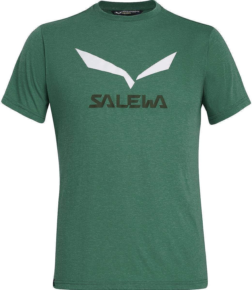 SALEWA Solidlogo Dry M S//S Maglietta Uomo