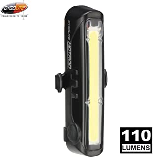 CYGOLITE Hotrod Front– 110 Lumen Bike Light– 3 Night & 3 Daytime Modes– Sleek Durable Design –IP64 Water Resistant– Sturdy...