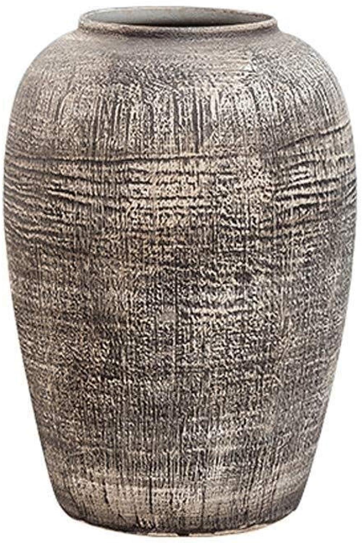 LQQGXL Vase en céramique Fait Main Fleur ArrangeHommest de Fleurs Vase en céramique Pot de Pierre Vintage