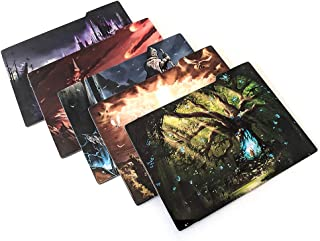 Card Box Dividers (Pack of 5) Divide & Conquer by Omnibus Games, Horizontal Deck Organizers for Magic The Gathering MTG, Pokemon, Collectible Card Games
