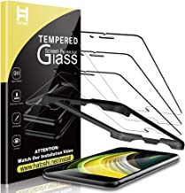 HATOSHI [3 Pack] Screen Protector for New iPhone SE 2020/ iPhone SE2 (4.7-inch) Tempered Glass, [Easy Installation Alignment Tray][HD Clear] [Case Friendly] Tempered Glass Screen Protector (Not Fit for iPhone 6/7/8)