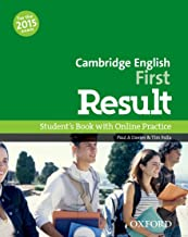 Scaricare Libri Cambridge English: First Result: First result. Student's book. Per le Scuole superiori. Con espansione online PDF