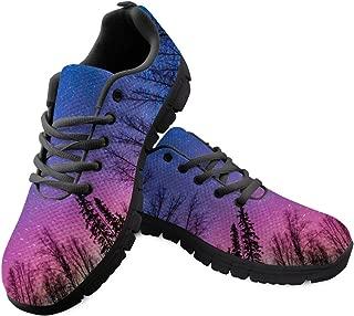 FOR U DESIGNS Glaxy Space Runinng Shoes Unisex Women Men Mesh Sneaker