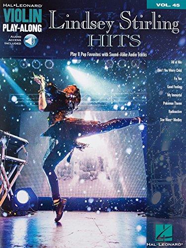 Hal Leonard Lindsey Stirling Hits Vol. 45 - Play Along for Violin