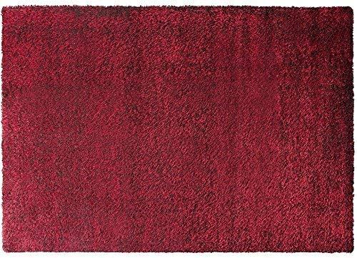 ESPRIT Cosy Glamour Moderner Markenteppich, Polypropylen/Polyester, Rot, 290 x 200 x 4 cm