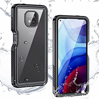 Moto G Power (2021) Case,Moto G Power (2021) Waterproof Case,Built-in Screen Protector Full Heavy Duty Protection Shockpro...