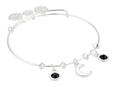 Alex and Ani Moon Star Multi Charm Bangle Bracelet (Shiny Silver) Bracelet