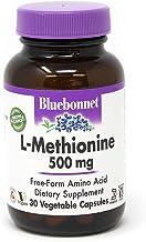 Bluebonnet L-methionine 500 Mg Vitamin Capsules, 30Count