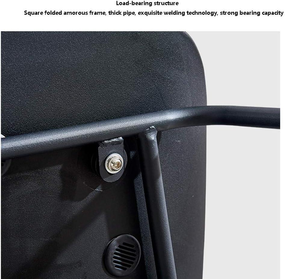 tabouret WFF Président Nordic prémonté Maquillage Accueil Moderne Minimaliste Chaise Fer Chaise Dossier Bureau (Color : Yellow) Gray