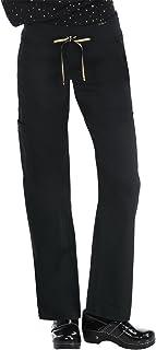 koi 713C Women's Morgan Scrub Pant (Black/Gold, X-Small)