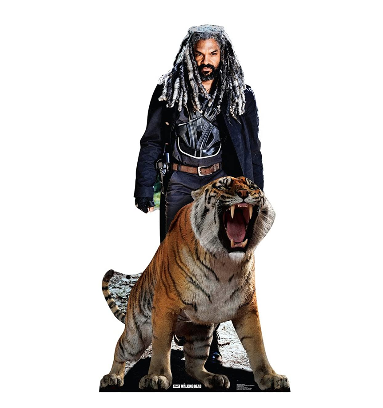 Advanced Graphics Ezekiel and Shiva - AMC's The Walking Dead Life Size Cardboard Cutout Standup