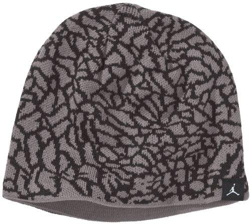 Nike Herren Mütze Jordan Element Reversible, Cement Grey/Dark Grey, One Size