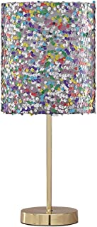Ashley Furniture Signature Design - Maddy Metal Table Lamp with Drum Shade Children's Lamp - Multi-Colored