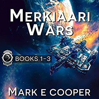 Merkiaari Wars Series audiobook cover art