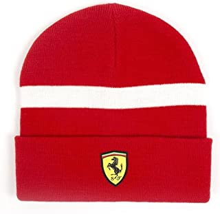 Scuderia Ferrari Formula 1 Red Knitted Beanie