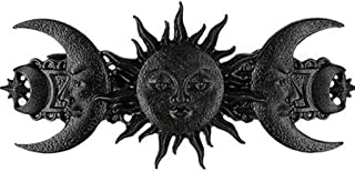 Restyle Sun and Moon Women Fashion Accessory Gothic Designed Hairclip - Black