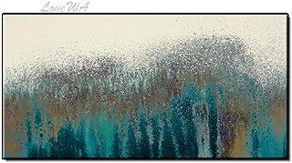 ZNYB Impression sur Toile Abstrait Landcape Toile Peinture Photo Arbre Mur Photos Art Toile et Peint à la Main Photo Mur A...