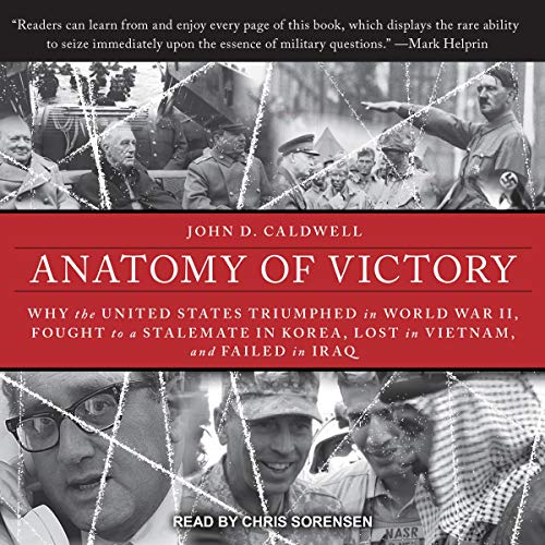 Anatomy of Victory audiobook cover art