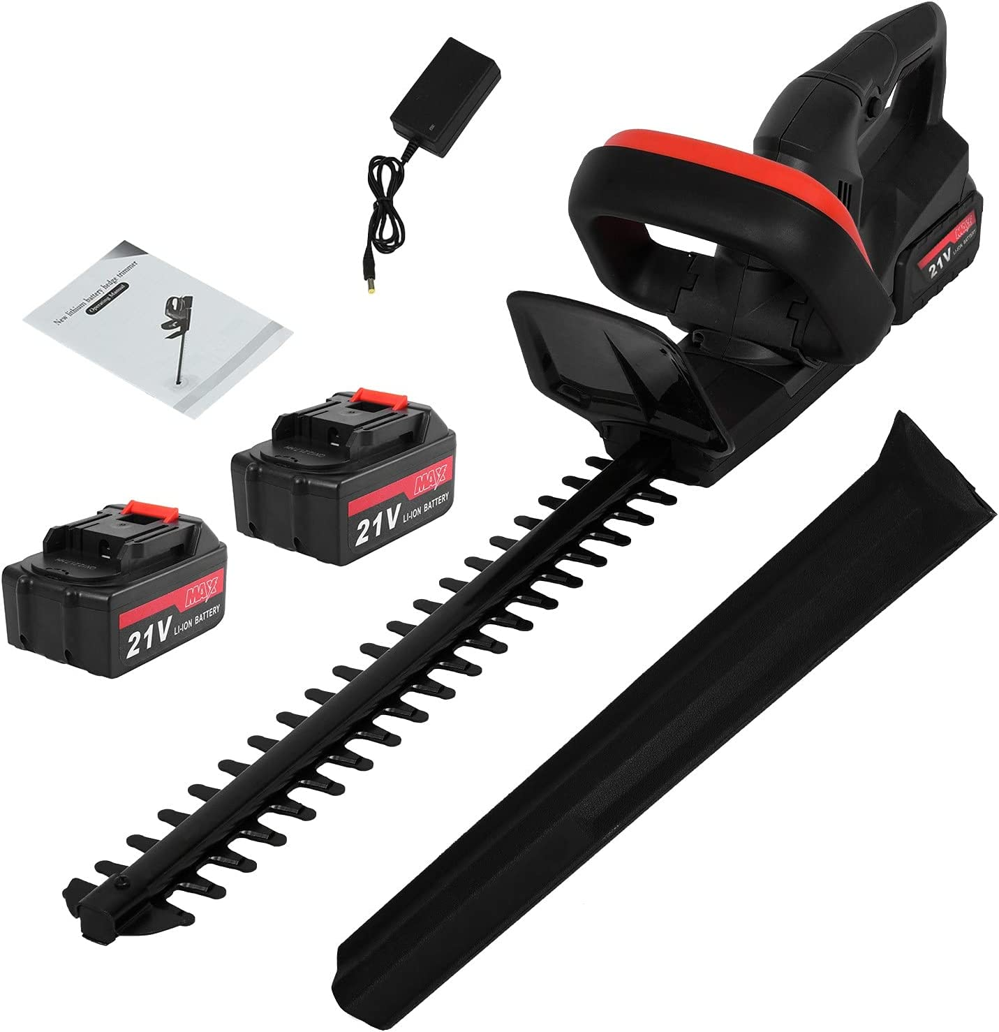 JOSHUA 21V Cordless Electric Hedge B Daily bargain sale with Li-Ion Trimmer NEW before selling ☆ 6000mAh