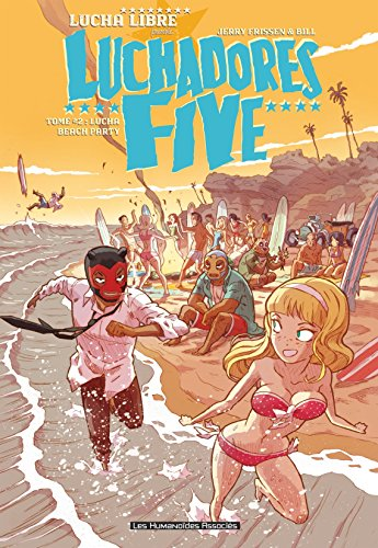 Luchadores five Vol. 2: Lucha Beach Party