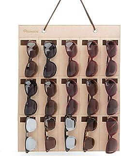 0e6a452cc1 Gafas de sol de almacenamiento Gafas de sol Organizador Colgante Estante de  pared Gafas de sol