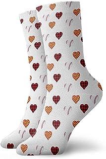 Dydan Tne, Niños Niñas Locos Divertidos Plaid Pizza Béisbol Corazón Calcetines Cute Novedad Vestido Calcetines