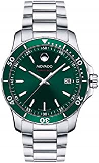 Series 800, Stainless Steel Case, Green Dial, Stainless Steel Bracelet, Women, 2600136
