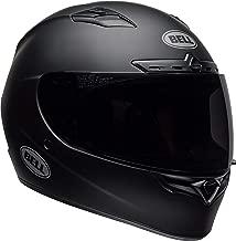 Bell Qualifier DLX Blackout Street Motorcycle Helmet (Blackout Matte Black, Large)