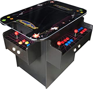 Retro 3-Sided Cocktail Arcade Machine