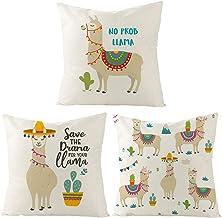 Amazon Com Llama Pillows