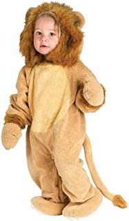 Fun World Kids' Toddler Baby's Cuddly Lion Infant Costume, Multi, Small
