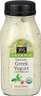 365 Everyday Value, Organic Creamy Greek Yogurt Dressing, 12 oz