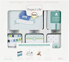 Project Life Core Kit Core Edition-Baby Boy (616 Piece)