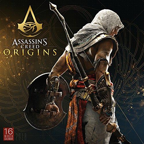 Assassin's Creed Origins 2018 Wall Calendar (CA0107)