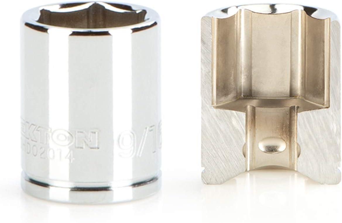 SHD03115 TEKTON 1//4 Inch Drive x 15 mm Deep 6-Point Socket