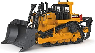 fisca 1/50 Diecast Bulldozer Model Metal Construction Vehicle Toy